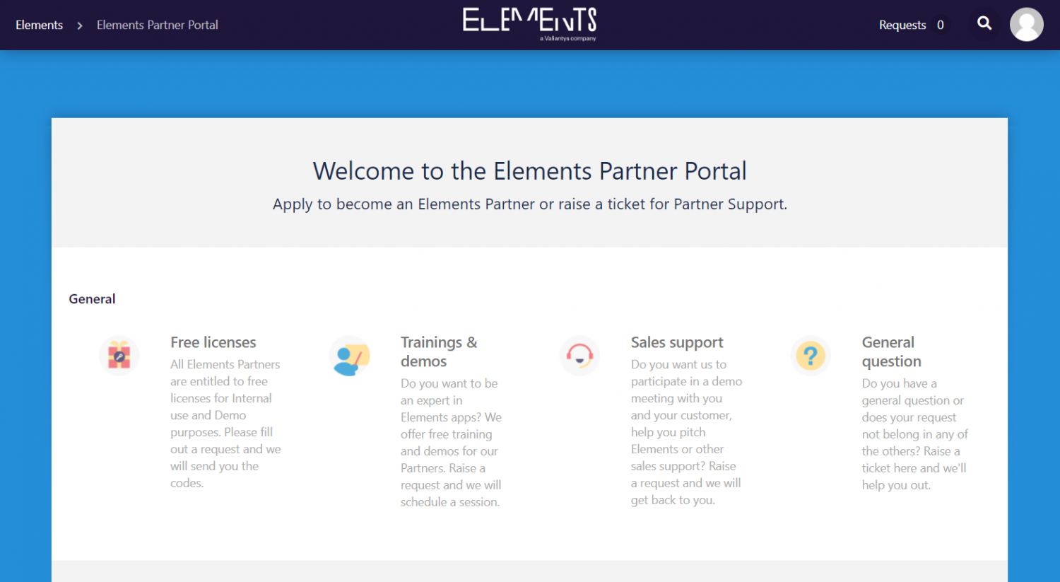 Elements apps partner portal for Atlassian Solution Partners