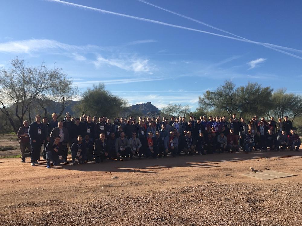 Atlassian App Week 2020 Scottsdale group photo