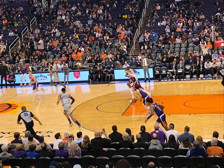 NBA game during Atlassian App Week Phoenix Arizona