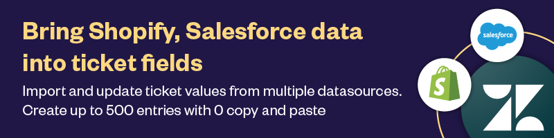 Bulk Import Shopify Salesforce Banner