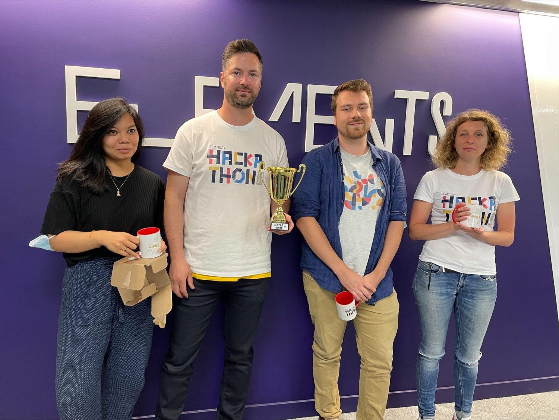 Elements hackathon winning team