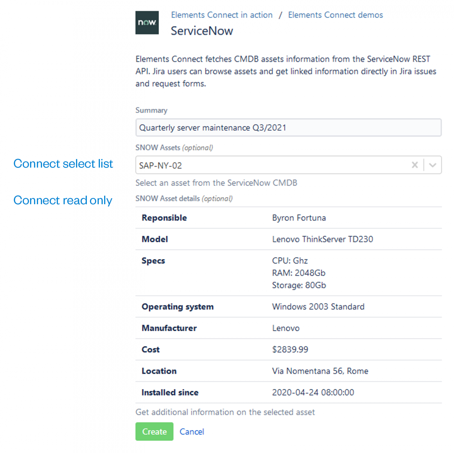 Autofilling a Jira custom field with data from REST API (Asset Management)